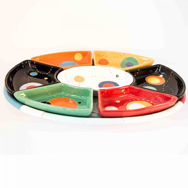 10_antipastiera ovale 8 pezzi circle