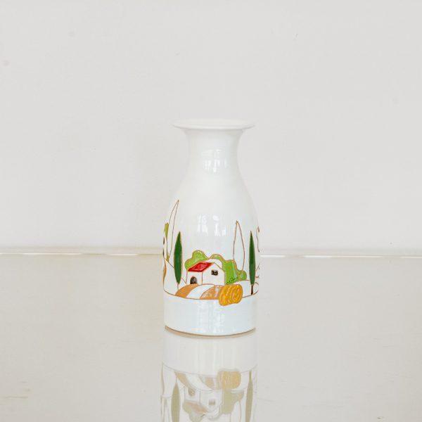 bottiglia di vino litro – naif stilizzato